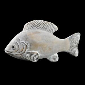 PESCE CERAMICA B/WHITE 29X7X15 WW