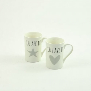 MUG CERAMICA YOU ARE MY D.7,5 H.10,5 WW