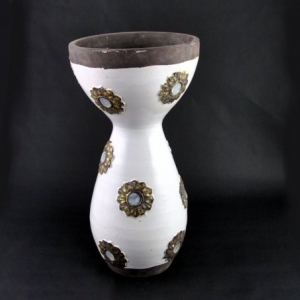 VASO CER.BAROQUE CREAM D.20 H.39 AM