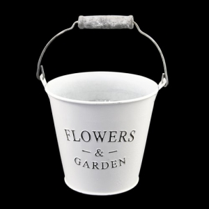 SECCHIO LATTA C/M.FLOWERS&GARDEN 16X11 DA