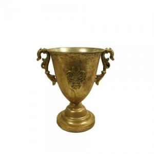 COPPA METALLO ANT.GOLD D.15 H.21 DA