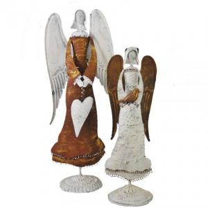 ANGELO METALLO RUSTY/CREAM 26X18 H.71 BF