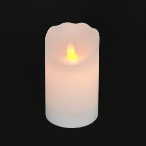 CANDELA CERA C/LED FIAMMA MOBILE 7,5X17,5 BC