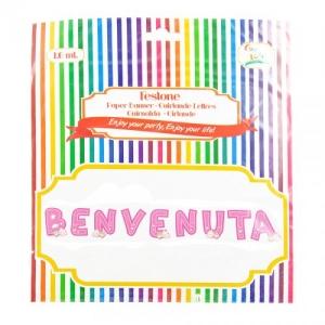 FESTONE BENVENUTA ROSA MT.1,5 GV