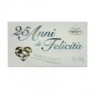 CONFETTI MAND.PELATA ARGENTO GR.500