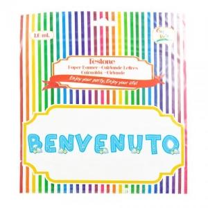 FESTONE BENVENUTO CELESTE MT.1,5 GV