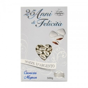 CUORICINI MIGNON ARGENTO 500 G.