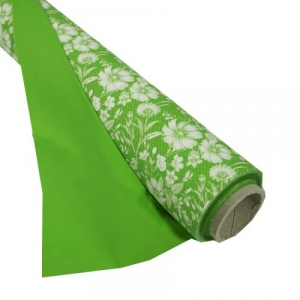 BOBINA PPL PERL.LACEY 100X25MT VERDE B.CO DA
