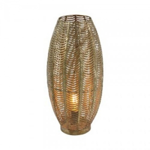 LAMPADA AURORA MET.ANT GOLD D.23 H.48 WW