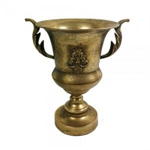COPPA METALLO ANT.GOLD D.20 H.30 DA