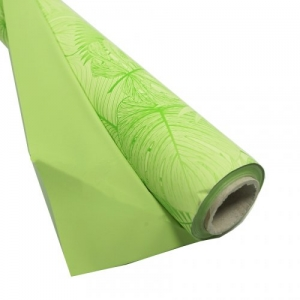 BOBINA PPL PERL. MONSTERA 100X25MT MU.VERDE DA